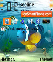 Clownfish theme screenshot
