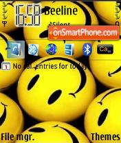 Скриншот темы Smiley