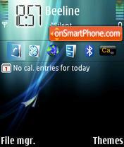 Abstract Vista theme screenshot