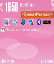 Nokia Pink theme screenshot