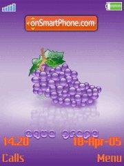 3d Grape tema screenshot