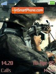Call Of Duty es el tema de pantalla