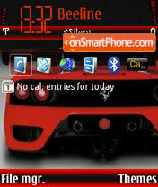 Ferrari 3250 N-2 theme screenshot