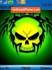 Greenskull theme screenshot