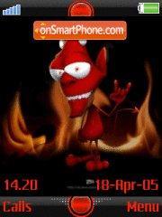 Devil 03 theme screenshot