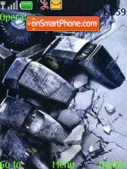 Capture d'écran Transformers 08 thème