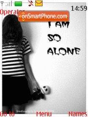 Lonely Emo es el tema de pantalla