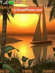 Paradise Cove theme screenshot