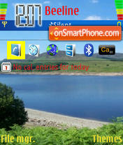Lake tema screenshot
