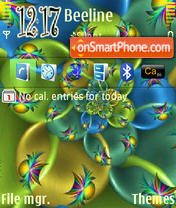 Lovely Colours Mix theme screenshot
