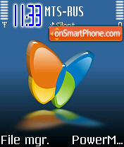 MSN theme screenshot