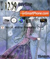 Capture d'écran Witch thème