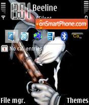 Bugs Bunny theme screenshot