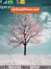 Winter Cherry theme screenshot