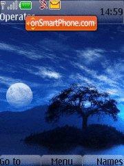 Blue Night theme screenshot
