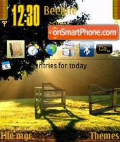 Скриншот темы Nature