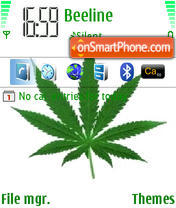 Green313 theme screenshot