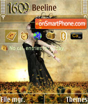 Warm Wind S60v3 theme screenshot