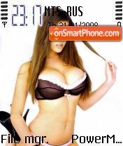 Hot Babe 02 es el tema de pantalla