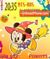 Witch Minnie es el tema de pantalla