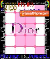 Dior Animated es el tema de pantalla