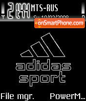 Adidas 21 tema screenshot