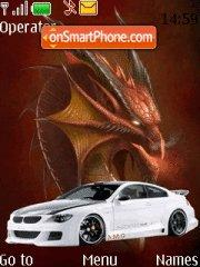 Bmw M6 Dragon theme screenshot