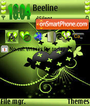 Abstract Heart Ver2 s60v3 theme screenshot