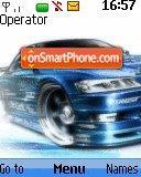 Blue Speed theme screenshot