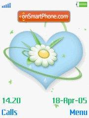 Flower Heart 01 es el tema de pantalla