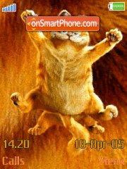 Garfield The Movie 03 es el tema de pantalla