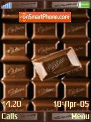 Chocolate es el tema de pantalla
