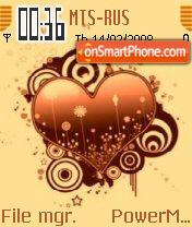 Heart es el tema de pantalla