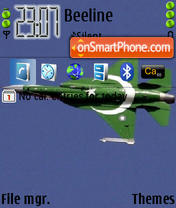 Скриншот темы Pakistan