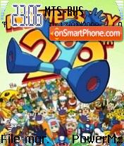 Mega Man es el tema de pantalla