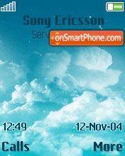 Cloud 01 es el tema de pantalla
