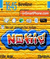 Nokia Graffity 320kh240 tema screenshot