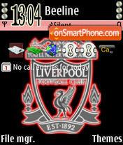 Скриншот темы Liverpool 1897