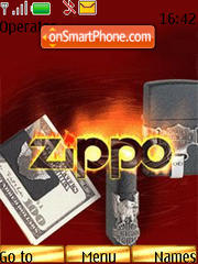 Zippo theme screenshot