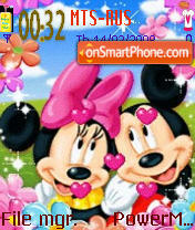 Inlove Mouse es el tema de pantalla