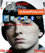 Eminem 11 theme screenshot