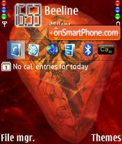 Lacryma Deus theme screenshot