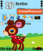 Bambi Theme-Screenshot