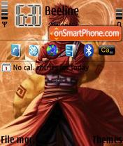 Gaara Kazakage theme screenshot