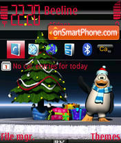Christmastime theme screenshot