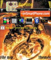 Ghost Rider Devil es el tema de pantalla