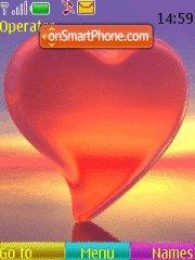 Crystal Heart theme screenshot