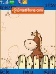 Horse Paci theme screenshot