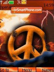 6233 No More Peace theme screenshot