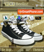 Levi's Shoes S60v3 theme screenshot
